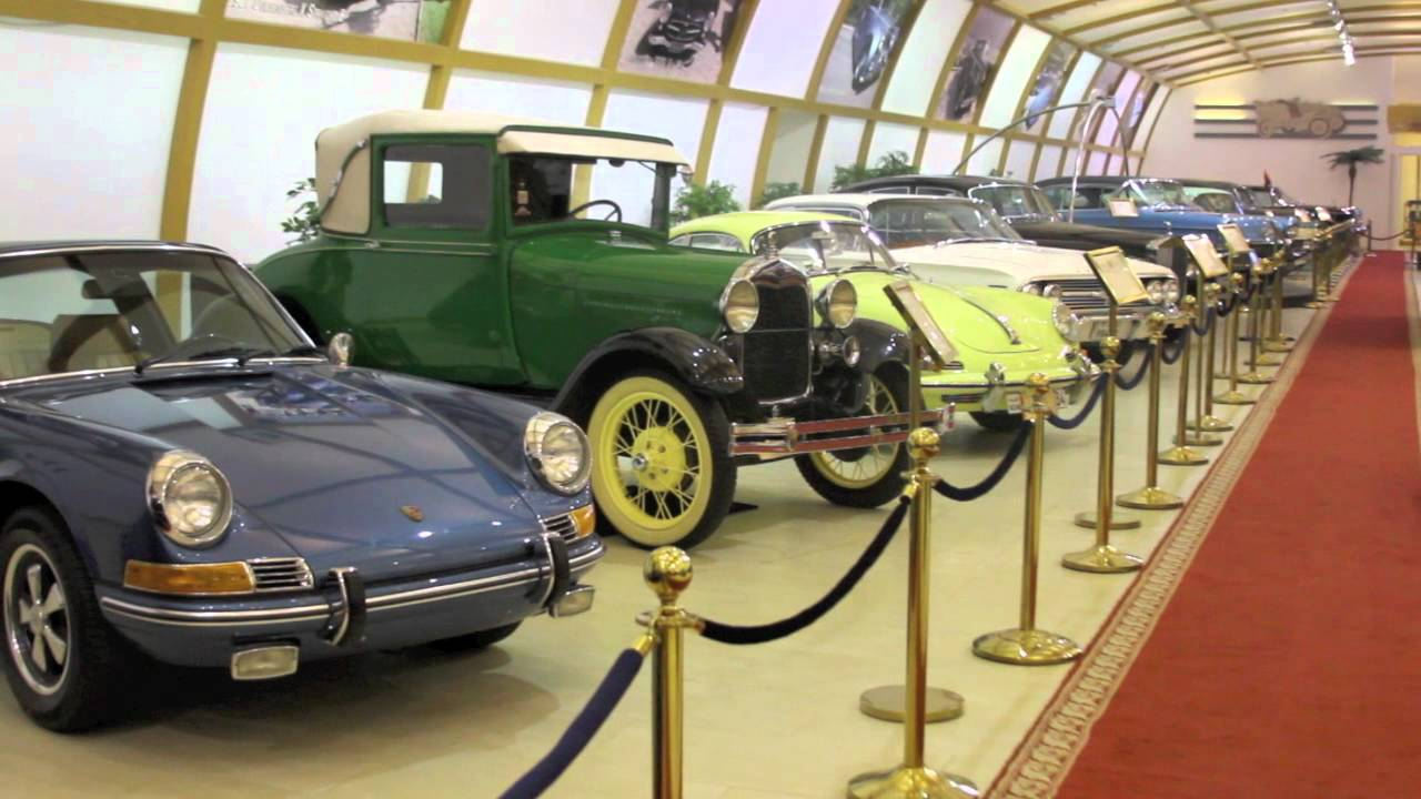 Kuwait\'s Historical, Vintage & Classic Cars Museum - YouTube