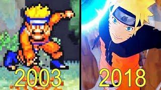 Evolution of Naruto Games 2003 2018