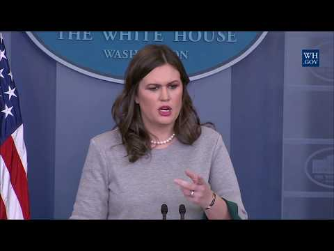 12/7/17: White House Press Briefing