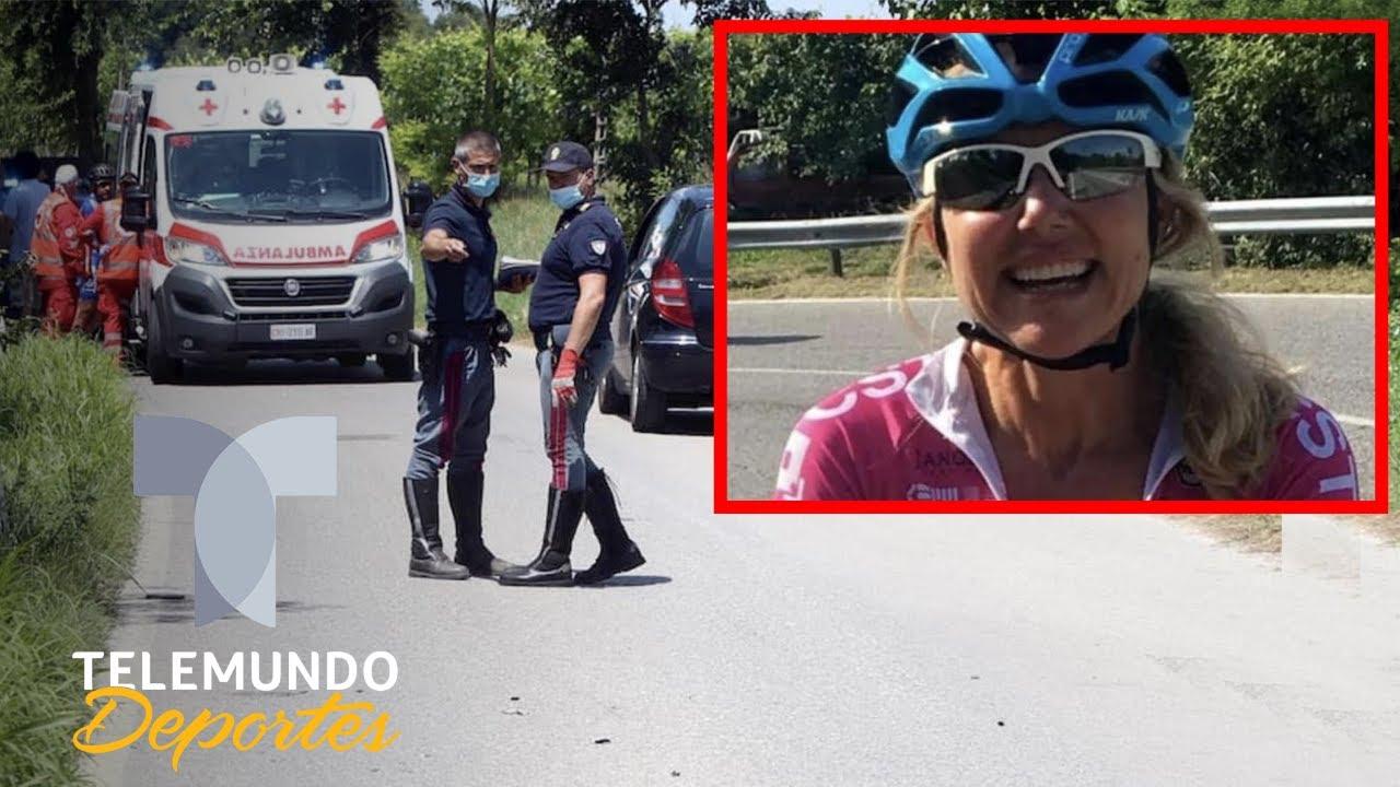 Una ciclista muere atropellada por un camión: su pareja está hundida | Telemundo Deportes
