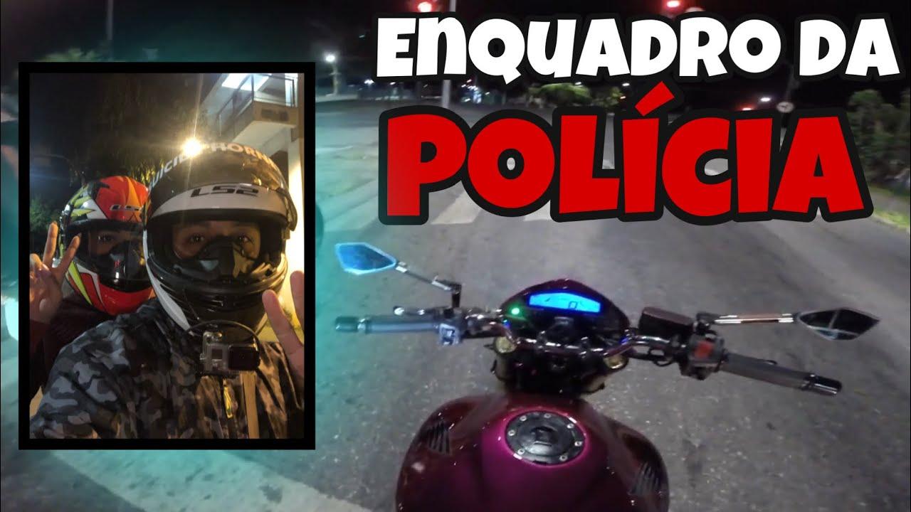 LEVEI UM ENQUADRO DA POLICIA NA HORNET POR CAUSA DE UMA SELFIE