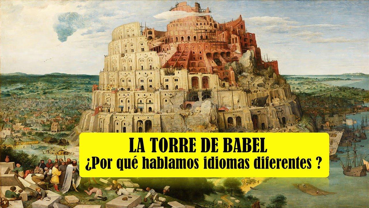 Resultado de imagen de TORRE DE BABEL