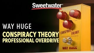 Way Huge Conspiracy Theory Pedal Demo with Bryan Kehoe