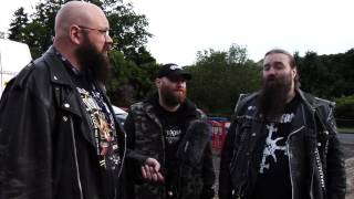Achren interview at Lesfest 2 (Metal Outlaw TV)
