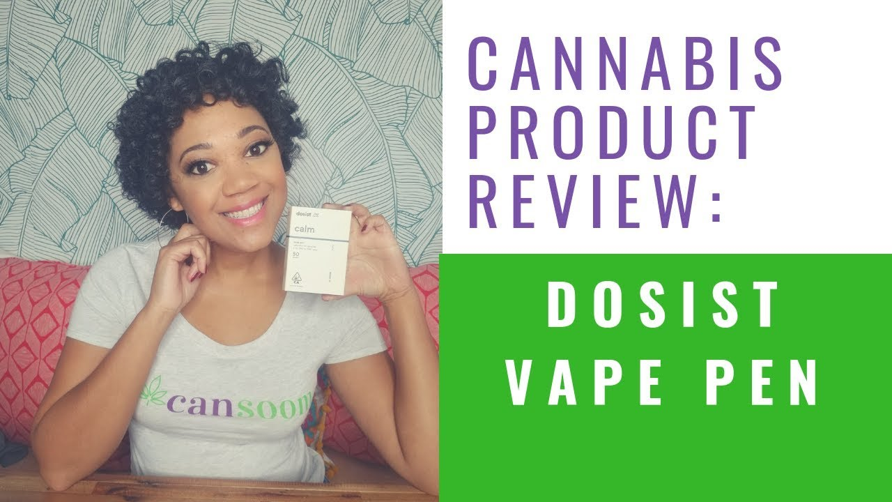 CBD THC Vape Pen Review - How to use the Dosist Vape Pen