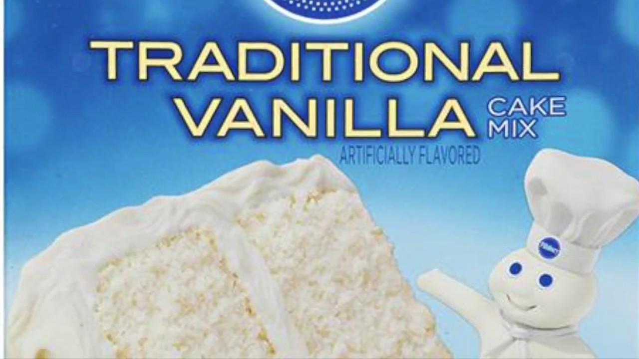 Pillsbury Vanilla Cake - YouTube