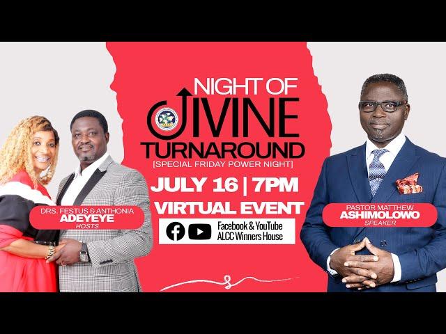 Night of Divine Turnaround | Pastor Matthew Ashimolowo | ALCC Winners House