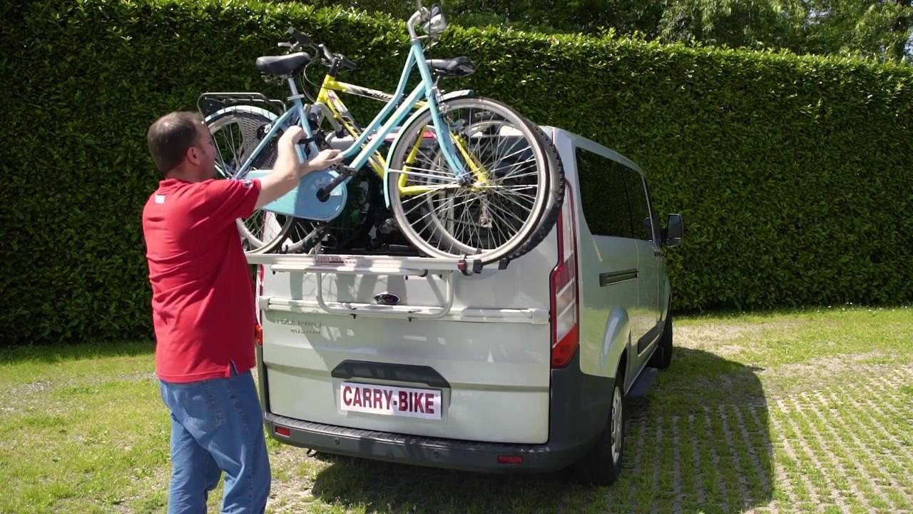 Carry Bike Ford Custom Fiamma Youtube