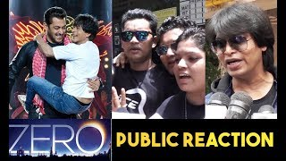Zero Teaser Reaction | Fans Go Crazy On Salman Khan - Shah Rukh Khan's Entry