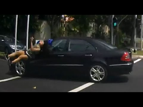 Young girl ploughed by car while crossing at traffic lights, driver claims innocence! - Singapore