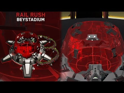 NEW HASBRO RAIL RUSH STADIUM GAMEPLAY | Beyblade Burst Evolution God APP Gameplay PART 66