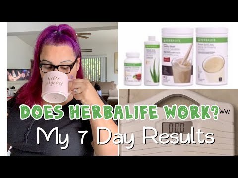 Losing Weight With Herbalife In 7 Days!!