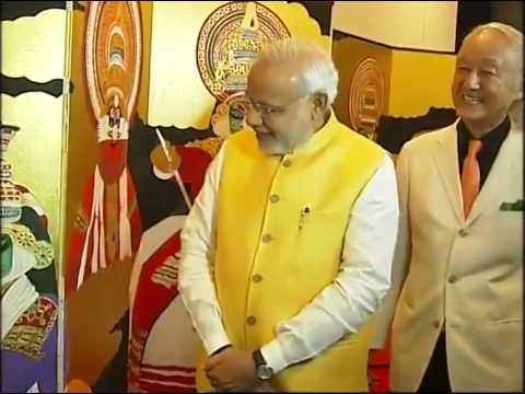 PM Modi Inaugurates the Vivekananda Cultural Centre at the Embassy of India in Tokyo