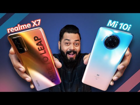 realme X7 5G Vs Mi 10i 5G Full Comparison ⚡ Camera, Display, Performance & More
