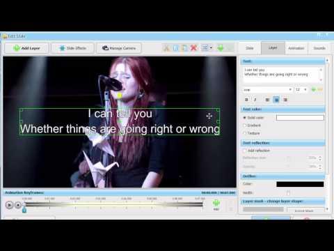 "How to Create a Slideshow with Music for Youtube - ""Karaoke Slideshow"" Secrets"