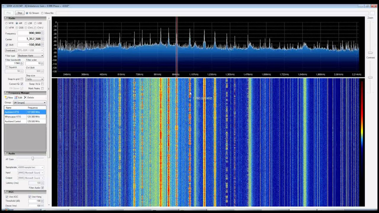 HF AM Radio with RTL SDR (RTL2832) in Direct Sampling Mode with SDR Sharp