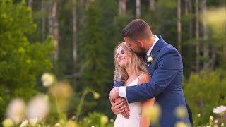 SWEET VOWS & FIRST LOOK // Hayley & Noah's Wedding Video // The Barn on New River // Boone, NC