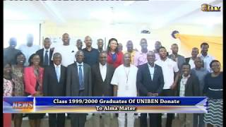 Class 1999/2000 graduates of Uniben donates to Alma mater