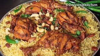 Chicken Mandi Recipe Without Steam &amp Without Oven  Restaurant Style Chicken Mandi Recipe