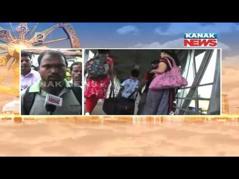 Dangerous Situation Of Bhadrak's Railway Foot Over Bridge