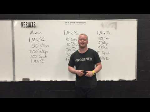 "Strategy for doing the CrossFit Hero WOD ""Murph"""