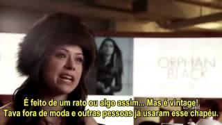[legendado] Tatiana Maslany 3 Questions, 2 Biscuits + 1 Cup Of Tea, Part 2 Orphan Black