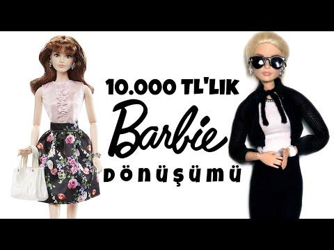 10.000 TL'lik Barbie Dönüşümü - Barbie Karl Lagerfeld Dönüşümü - Mellbie