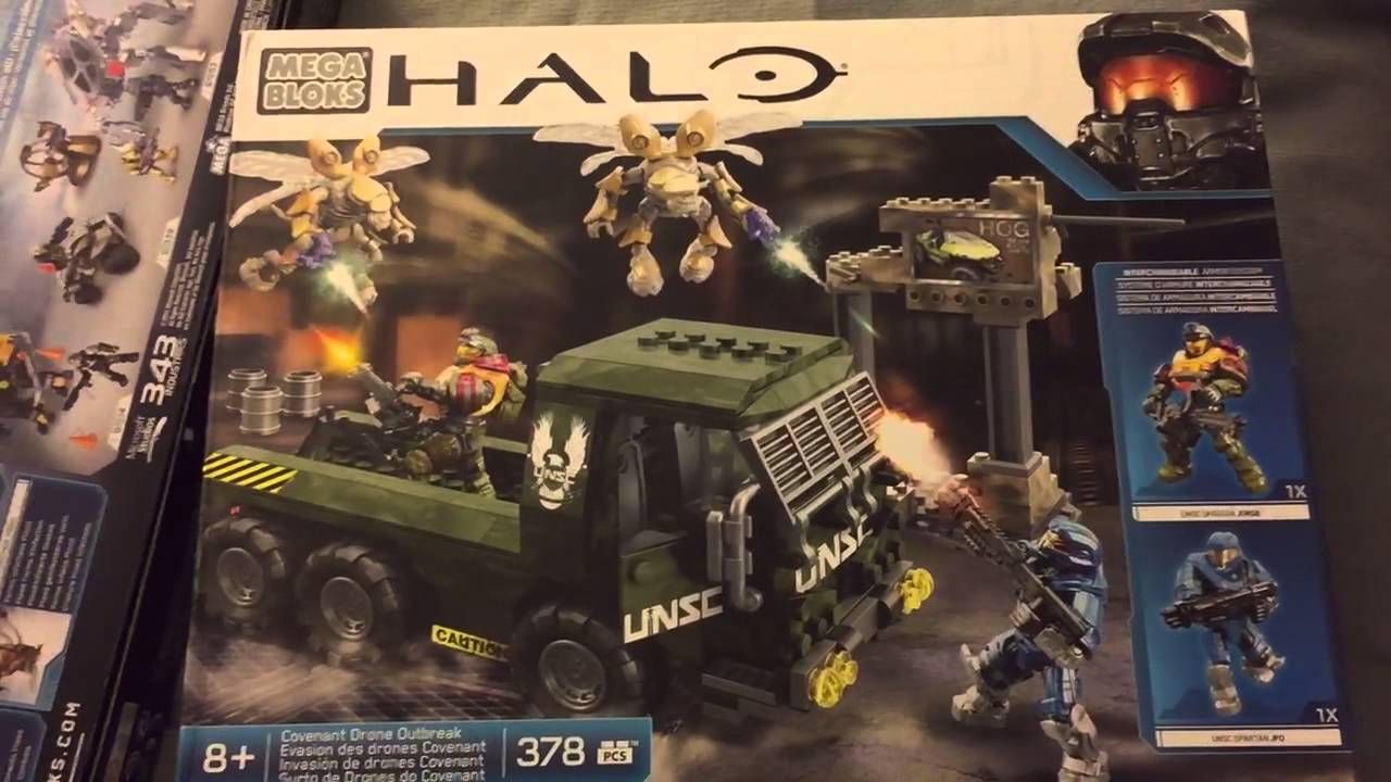 Looking at toys Miami toy hunting halo sets from toys r us - YouTube