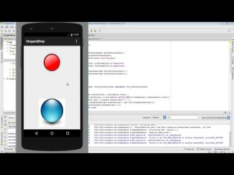 Android : Drag And Drop