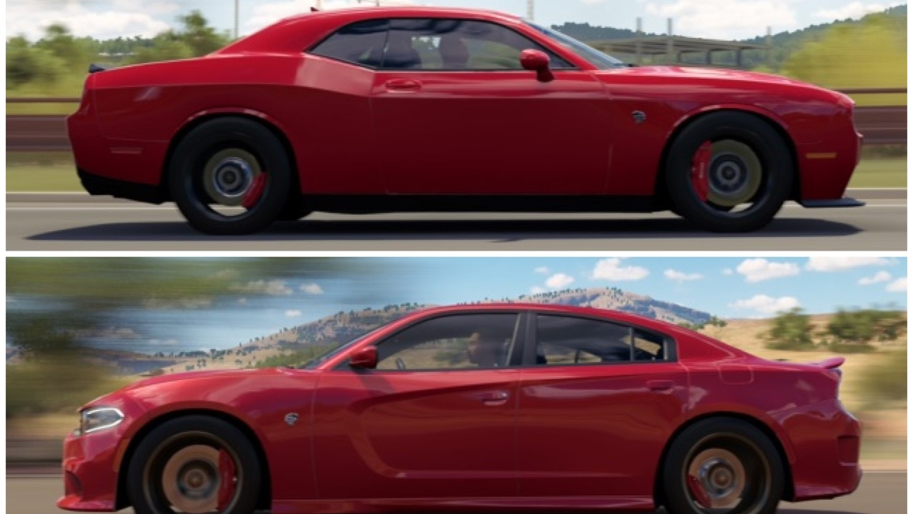 forza horizon 3 dodge challenger hellcat vs dodge charger hellcat. Cars Review. Best American Auto & Cars Review