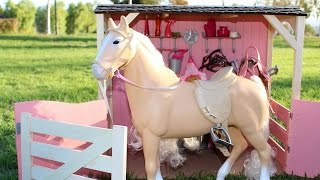 Doll Horse Playset | Our Generation Doll Horses & Stable Review