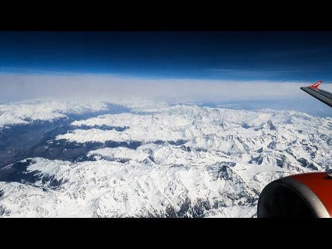 Milan Malpensa to London Gatwick. EZY 8192 Airbus A320. Full Flight