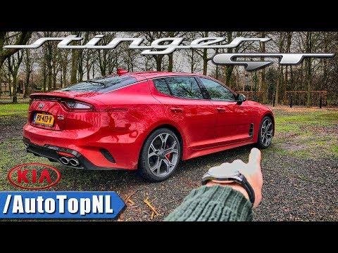 Kia Stinger GT REVIEW POV on AUTOBAHN by AutoTopNL