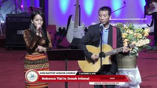 Jonah Inhmai le Rebecca Tial   Duet    Pastor Appreciation Day   October 14, 2018