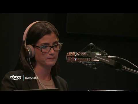 The Dana Show in the Skype Live Studio (101 FM News KXL)