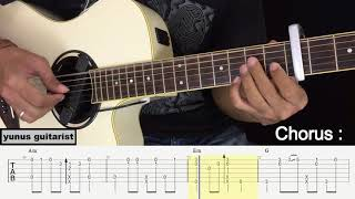 Ya Habibal Qolbi - Fingerstyle Guitar Tutorial.