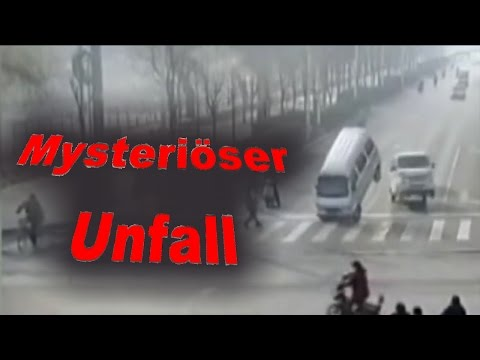 HOAX? - Mysteriöser Unfall in China, Levitation?