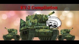 WoT Blitz - KV-2 Compilation #8 (Specjal for 1000 subscriptions)