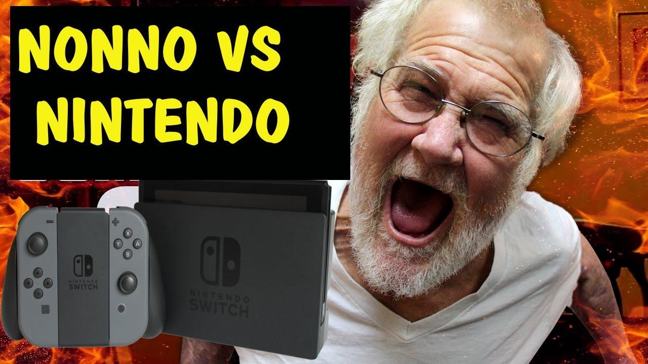Nonno spacca nintendo switch e zelda youtube - Nonno spacca letto ...