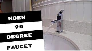 Moen 90 Degree Lavatory Faucet Installation
