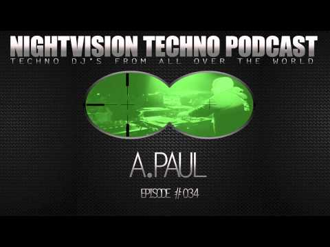 A.Paul [POR] - NightVision Techno PODCAST 34 pt.2