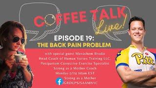 Prenatal and postpartum back pain