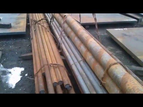 Круги стальные диаметром 20-350 мм