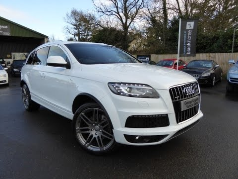 2010 Audi Q7 TSi S-Line for Sale at George Kingsley Vehicle Sales, Colchester, Essex. 01206 728888