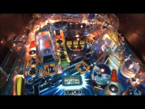 TRON Legacy Pinball Machine Stern 2011 - YouTube