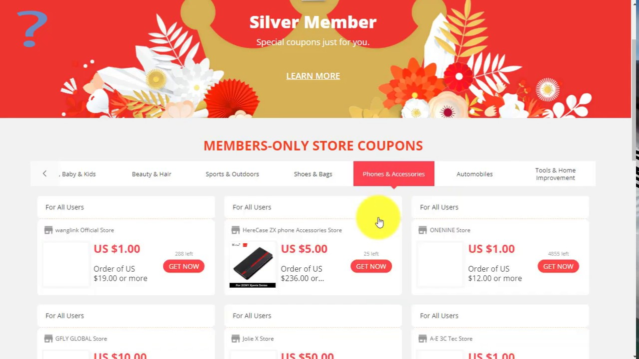 How to use Aliexpress Seller Coupon