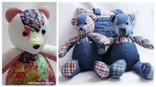 The BEST Memory Bear Sewing Tips | How to Make Perfect Memory Bears 🐻 | Whitney Sews