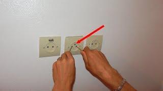 صار بإمكانك لمس أقطاب القابس الكهربائي دون التعرض للصعق مع هذه الإضافة