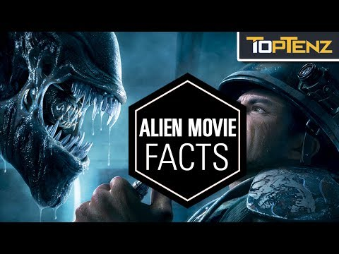 Top 10 CRAZY Facts About the ALIEN MOVIE Franchise