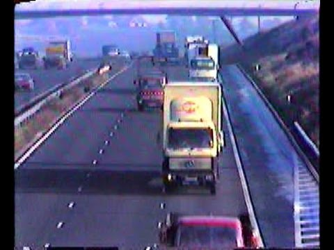 December 1980 - M5 Motorway from Lydiate Ash Bromsgrove